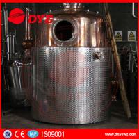 Best SS Commercial Distilling Equipment Rum Vodka Whiskey Brandy Distillery Equipment wholesale