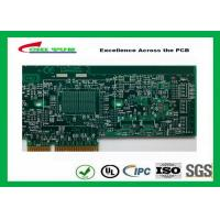 Best Printed Circuit Board Double Sided PCB 6 Layer Lead Free HASL + Gold Finger wholesale