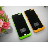 Best Light Weight IPhone 5 External Battery Case , 2200mah Backup Battery IPhone Case wholesale
