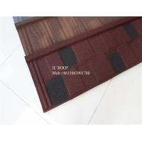 Best Fire proof Stone Chips Coated Step Metal Roof Tile Aluminium Zinc Roofing Sheets wholesale