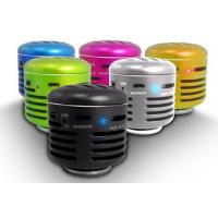 Best Silver Mini Wireless Cell Phone Speakers For Blackberry / SONY wholesale