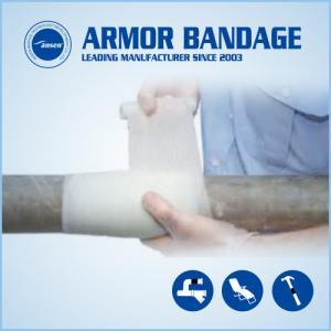 Best 4.6m Black Pipe Wrap Repair Bandage Fix-it Wrap Tape Fiberglass Armor Wrap Tape wholesale