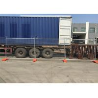 Best Cheapest Temporary Fencing Panels 2.1mx2.4m OD32mm*1.40mm wholesale