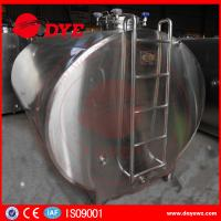 Best Food grade Road Milk Transportation Tank milk cooling tank Semi - Automatic wholesale
