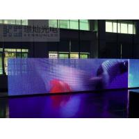 Best 3 IN 1 Aluminum Cabinet Led Curtain Display For Events High Stability wholesale
