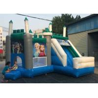 Best Safety Air Flap Commercial Bouncy Castle , Inflatable Jump House Easily Putting Up wholesale