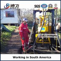 Best XY-200F Portable water well and core sampling drilling rig with mud pump wholesale