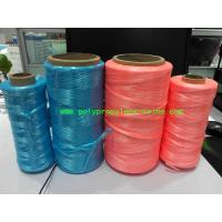 Cheap UV Treated High Tenacity Polypropylene Twine , Poly Baler Twine  Blue Red Color for sale