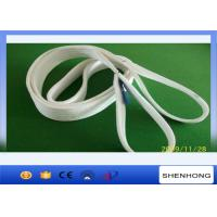 China Polyester Flat Webbing Sling Web Sling Lifting Sling With 100mm Eye on sale