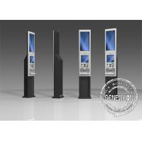 China 22 inch Checking information easy digital signage display stands windows system inside on sale