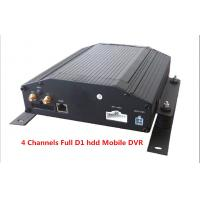 Best Digital Video Recorder 4Ch Full D1 HDD & SD Card Car Mobile DVR Support GPS 3G / WIFI wholesale