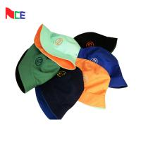 Best Double Sided Fisherman Bucket Hat With Embroidery Tag Pantone Color Card wholesale