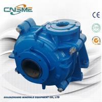 Best Blue Color Rubber Lined Slurry Pump For Mining And Minerals With Rubber Impeller wholesale