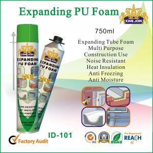 Best Eco Friendly PU Foam Sealant , Anti Moisture High Density Spray Foam Insulation wholesale