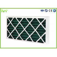 Best G4 Pleated Replacement Air Filter 45Pa Initial Pressure Drop With Cardboard Frame wholesale