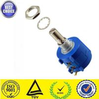 Best 3590S-2-103(10K ohm) 10 turns wire-wound potentiometer with metel shaft wholesale