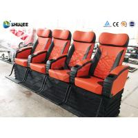 Best Electronic 4d Theater System Movie Theater Equipment 4 Seats With Vibration wholesale