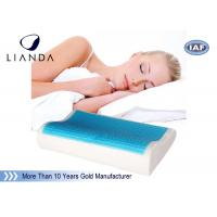 Best Wave shape Cooling gel memory foam pillow / adult king size cool gel pillow wholesale