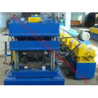 Best 2 Waves W Type Highway Guardrail Roll Forming Machine Export Macedonia Greece Metal Cold Rolling Forming wholesale