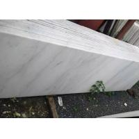Cheap Guanxi White Marble Stone Tiles Square Marble Slab 20mm Thickness Brushed Finished for sale