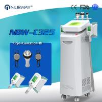 Buy cheap CE ISO FDA approved Hot Sale 5 handles Cryolipolysis Slimming With Cavitation from wholesalers
