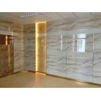 Buy cheap UV Coating Solid Pvc Waterproof Bathroom Wall Panels Exterior Marble Color from wholesalers