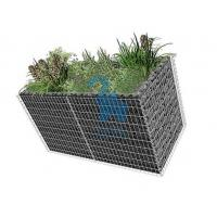 Large Gabion Rock Baskets‎ , Retaining Wall Rock Cages With 10pcs Closing Ties