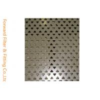 Triangle / Diamond Perforated Metal Sheet Screen for Pharmaceutical Industries