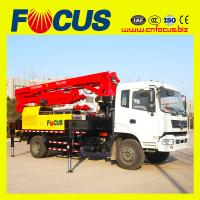 Cheap 18m small concrete pump truck with dongfeng or sinotruck chassis for sale
