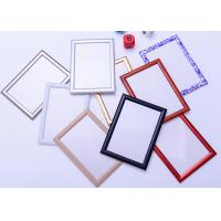Best Round Corner A1 Snap Frame Poster Display, Wall Mounted Aluminum Picture Frames wholesale