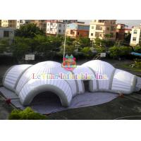 Best Fire Retardant Inflatable Football Tunnel / Helmet Tent For Sports Events wholesale