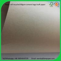 China BMPAPER White Coated Kraft Liner/ Paperboard  for cement bags on sale