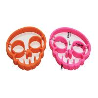Best Skull shaped silicone egg ring,silicone egg shaper,silicone skull egg mold mould wholesale