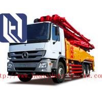 Best 51 M Cement Pump Truck Cement Transport Trucks 4 Sections Arms 50m³ Output, HB52B/HB52A-I wholesale