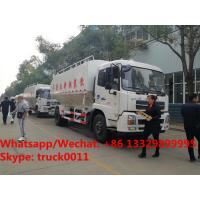 Best 2018s new 10tons bulk feeds trucks for animal feed transport tank truck for sale, Dongfeng 20m3 poultry feed truck wholesale
