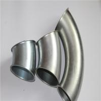 China Zinc Plated Stainless Steel 45 Degree Elbow , SS Pipe Fittings Smooth Surface on sale
