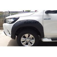 Best Hilux Revo Body Parts Wheel Arch Fender Trims / 4x4 Fender Flares For Toyota Pickup wholesale