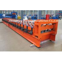 Best Color Steel H75 Floor Metal Deck Roll Forming Machine / Roll Former Operations Safety wholesale