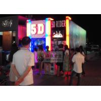 Best Professional 5D Cinema System with ABS 3D Glasses and Motion Chair wholesale