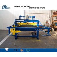 China Hydraulic Automatic Cutting Tile Roll Forming Machine / Cut To Length Machine on sale