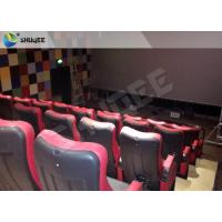 Best Pnuematic 4DM Cinema System With Leather Fiberglass Motion Chair wholesale