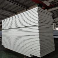 Best white color sheet 0.326 insulated eps sandwich panel 11900x1150x75mm for office wholesale