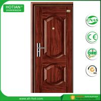 Best lowes steel entry doors with security lock for apartment gate iron door wholesale