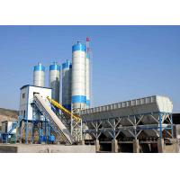Ready Mix Belt Type Cement Concrete Plant HZS90 90m3/H Stationary For Construction