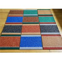 Multi Colors EPDM Rubber Granules Recycled Material For Kindergarten
