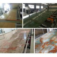 Buy cheap Compact PVC / Marble / Plastic Board Extrusion Machine High Performance from wholesalers