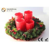Best Red Color Decorative Led Candles With Remote Control D8.5X12/14/16/18cm wholesale