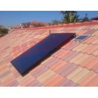 Best Closed Circulation Flat Plate Solar Collector With Copper Connection Accessories wholesale