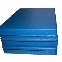 Best Exercise Mat, Made of PVC Leather and High-density Sponge, Customized Sizes are Accepted wholesale