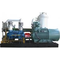 Cheap 9 Bar Water Injected Recycling Process Gas Screw Compressor , Rotary Screw Gas Compressor for sale